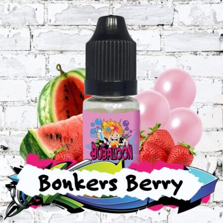Bubaloon Bonkers Berry eliquid 10ml bottle