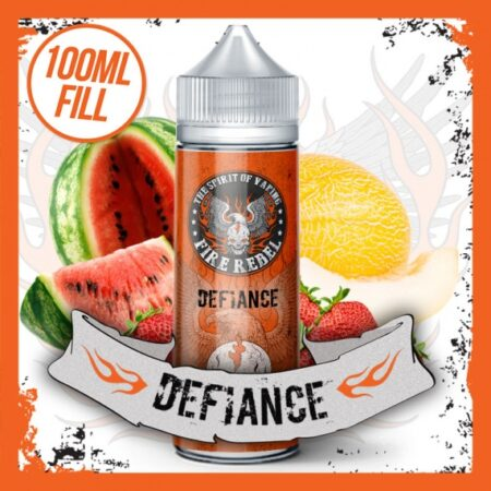 Fire Rebel Defiance 100ml Shortfill eliquid bottle