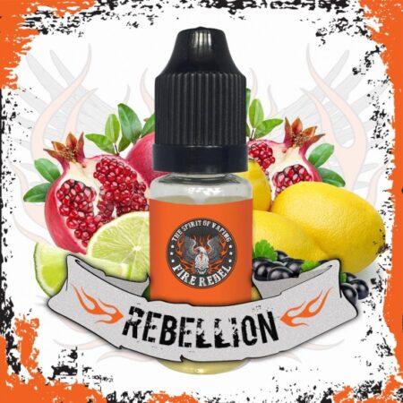 Fire Rebel Rebellion eliquid 10ml bottle