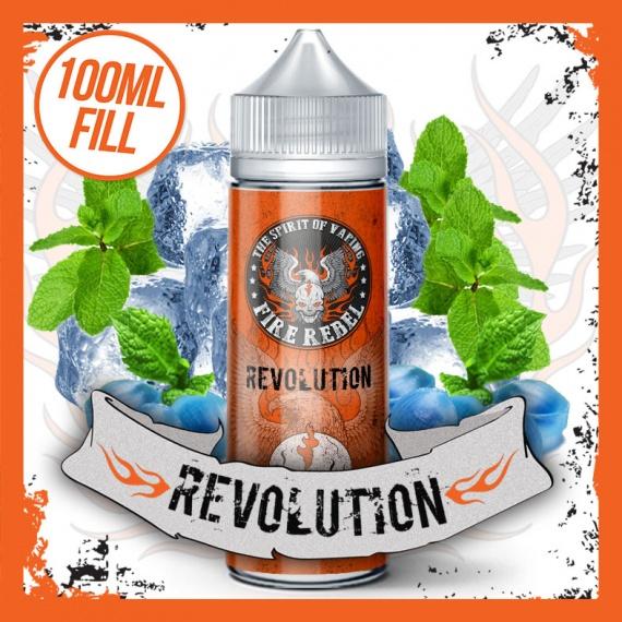 Fire Rebel Revolution eliquid Short Fill 100ml bottle