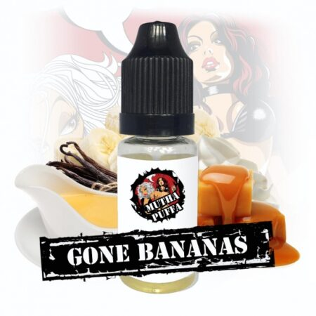 Mutha Puffa Gone Bananas eliquid 10ml bottle