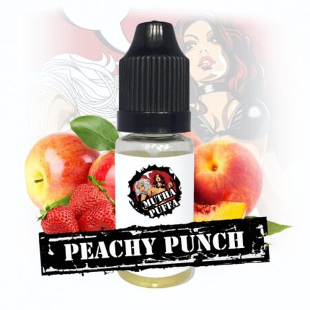Mutha Puffa Peachy Punch eliquid 10ml bottle