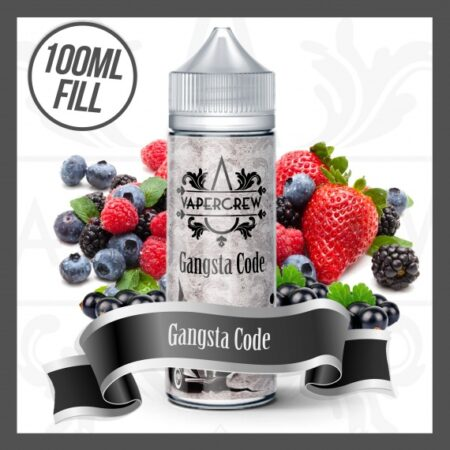 Vapercrew Gangsta Code eliquid 100ml
