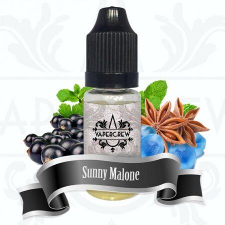 Vapercrew Sunny Malone eliquid 10ml bottle